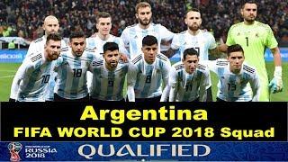 FIFA Russia World Cup 2018 Argentina Squad | Hidden World BD |