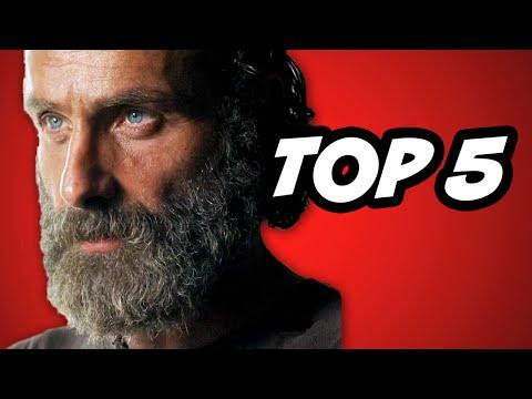 Walking Dead Season 5 Episode 12 TOP 5 Alexandria Safe Zone WTF