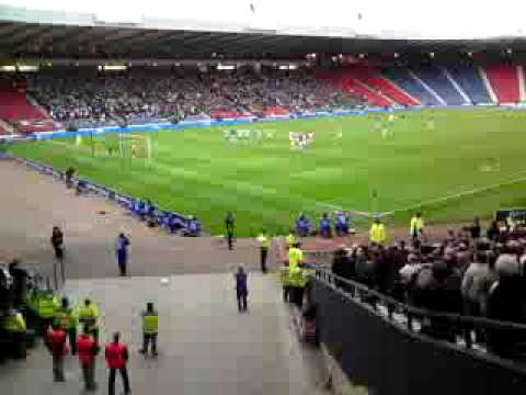 Scott Arfield Penalty  Falkirk V Dunfermline 2-0