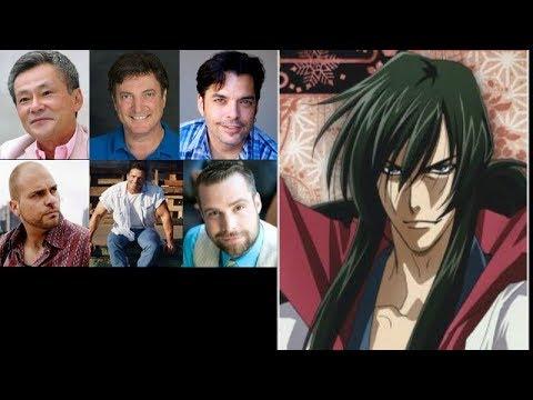 Anime Voice Comparison- Seijuro Hiko (Rurouni Kenshin)