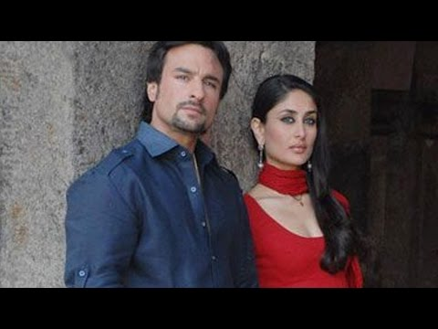 Saif Ali Khan and Kareena Kapoors longest kissing scène