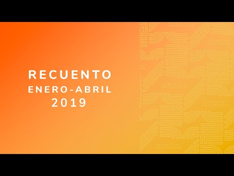 Video Recuento Enero-Abril 2019 | LHCM