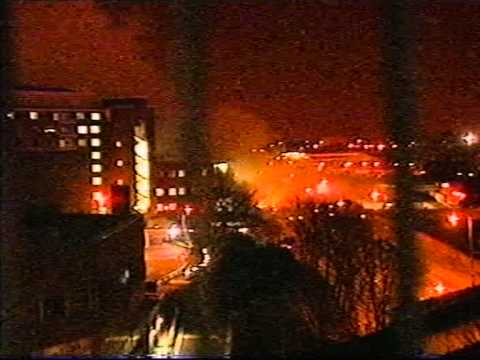 BBC Bomb at Television Centre 2001
