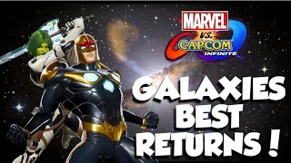 MVCI: Galaxies Best Return! - Nova And Gamora Ranked Matches