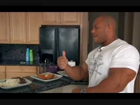 Phil Heath meal plan