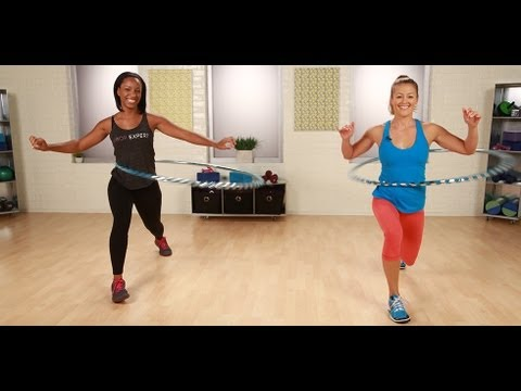 Hula Hoop Exercises From Hoopnotica | Burn Calories | Fitness How To video