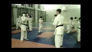 Training for sports karate (January 2015)