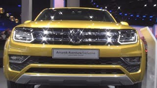 Volkswagen Amarok Aventura Exclusive 3.0 V6 TDI (2018) Exterior and Interior