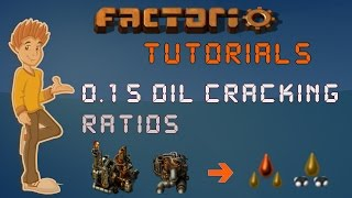 Factorio 0.15 Tutorial - Oil Cracking Ratios & Calculations