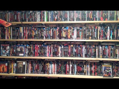my entire blu ray and dvd collection my blu ray collection update series youtube. Black Bedroom Furniture Sets. Home Design Ideas
