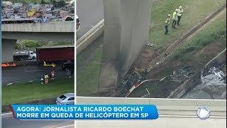 Testemunhas contam que helicóptero de Boechat teria tentado pousar