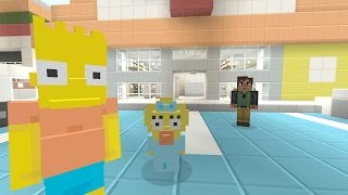 Minecraft Xbox - The Simpsons Series - Bart Gets Caught Stealing [3]