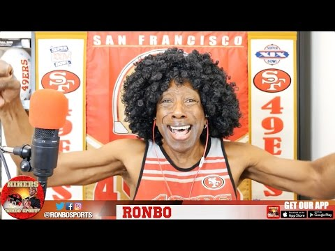 Ronbo Sports In Yo Face, At Yo Place Watching The Game! 49ers VS Bills 2016 Week 6 NFL