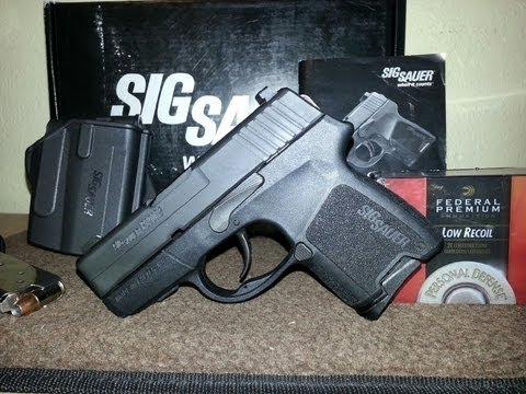 SIG SAUER P290 RS MICRO COMPACT 9MM POCKET PISTOL