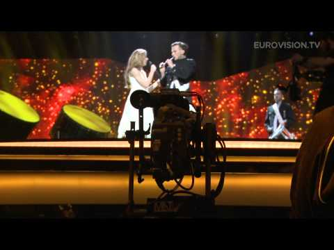 Emmelie de Forest - Only Teardrops (Denmark) Impression of second rehearsal