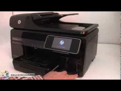 Reseteo impresora HP Officejet Pro 8500 8100 8600  (de Panel táctil)