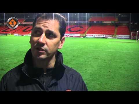 Dundee United - Jackie McNamara post match v Kilmarnock - 22.11.2014