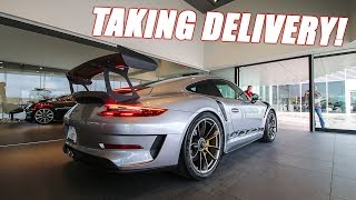 What It's Like Taking Delivery of a 2019 Porsche GT3 RS Track Toy!