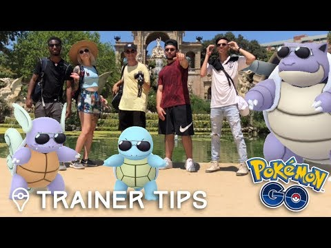 SQUIRTLE SQUAD IN REAL LIFE! Pokémon GO Community Day w/ MYSTIC7, PkmnMasterHolly, JTGily, & DX1