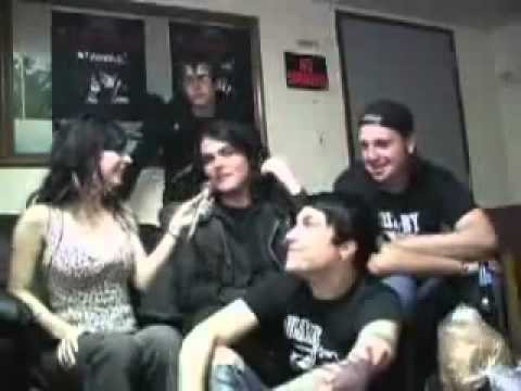 My Chemical Romance Interview Burning Angel DVD