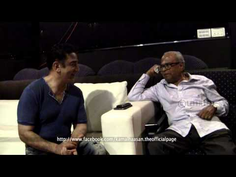 K.Balachander Sir Praises Ulaganayagan Kamal Haasan After Watching Vishwaroopam Excerpts