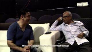 Vishwaroopam - K.Balachander Sir Praises Ulaganayagan Kamal Haasan After Watching Vishwaroopam Excerpts