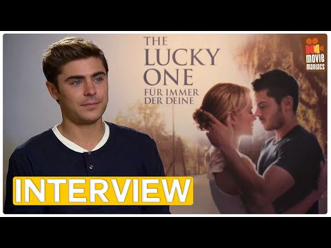 The Lucky One | Interview Special (2012) Zac Efron Nicholas Sparks Taylor Schilling Scott Hicks