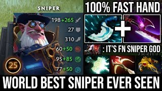 World Best Sniper Ever Seen | WTF Plays 100% Fast Reaction & Free Hits Deleted Everyone - DotA 2