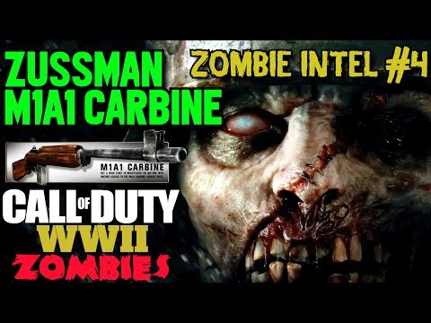 World War 2 Zombies In Depth - Intel #4: Zussman and the M1A1 Carbine