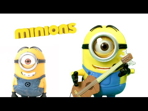 Minion Stuart With Guitar Minions Singing Stuart Toy