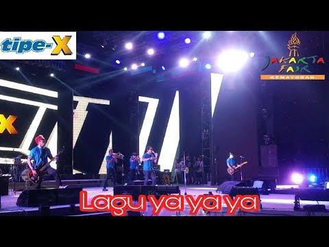 Tipe X _ Lagu Ya ya ya ^ PRJ 2017 ( HQ Video Audio )