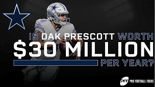 Is Dak Prescott Worth $30 Million per year? | PFF