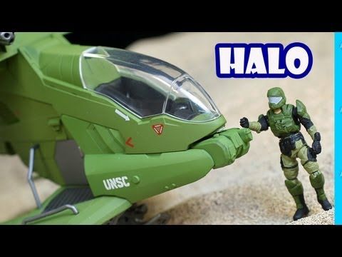 HALO UNSC Hornet Jada Toys Review Unboxing