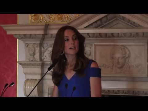 Her Royal Highness The Duchess of Cambridge - speech for SportsAid's 40th anniversary celebrations