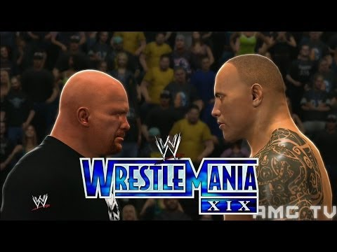 Wwe 2k14 - Rock V Austin | Wrestlemania Xix Promo video