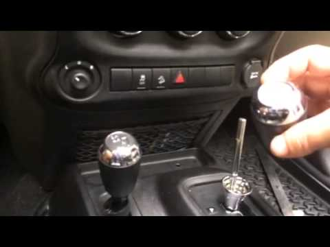Jeep Shift Knob Removal Youtube