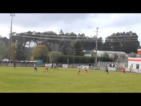 2� Golo: SC S�o Jo�o de Ver 0 - SC Freamunde 2