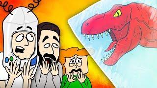 GameMeneer & ToastmanGames DINO JACHT! - Gaatjes Vullen #07