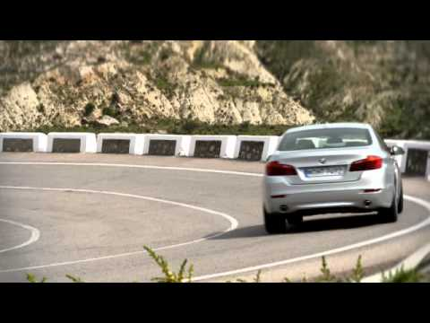 2014 BMW 5-Series facelift promo