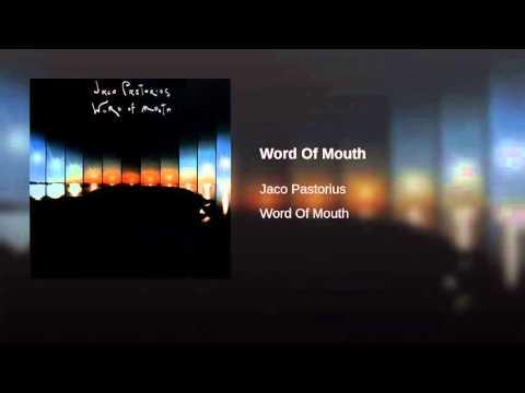 Jaco Pastorius- Word Of Mouth