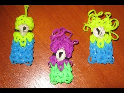 Игрушки своими руками из резинок