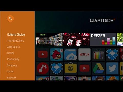 Como Instalar o Aptoide TV Market na Sony Android TV