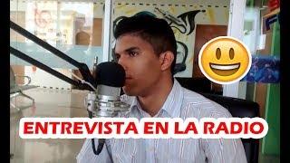 ME HACEN UNA ENTREVISTA EN LA RADIO | Soy Elege