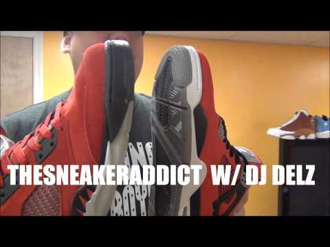 Air Jordan Toro Bravo 4 VS 5 Raging Bulls Sneakers W/ @DjDelz #PickOne