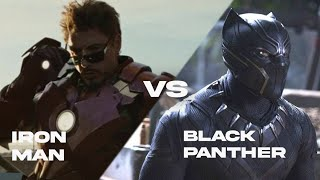 Ironman Vs Black Panther Death Battle | Superhero Showdown
