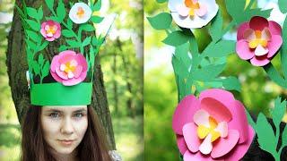 Как сделать корону лесной феи своими руками