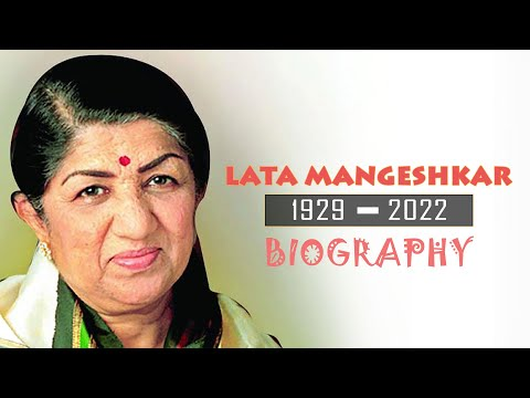 Lata Mangeshkar - Melody Queen - Biography video