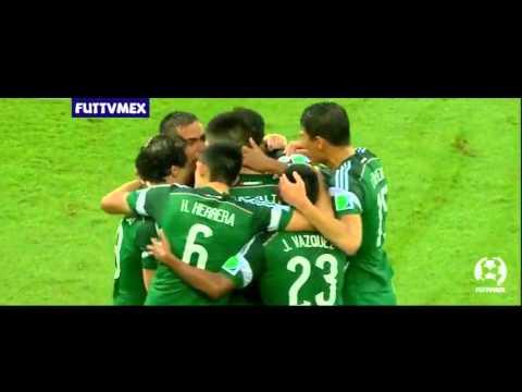 Mexico vs Camerun 1-0 Mundial Brasil 2014 GOLES