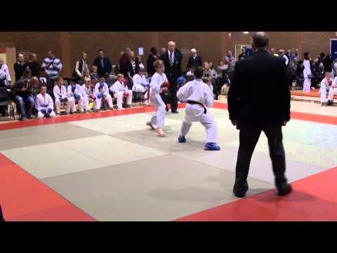 JOEL BARKER - KLEIN FSK NATIONALS 2012 UNDER 5ft KUMITE