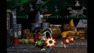 Donkey Kong Country 2: Final boss + first ending
